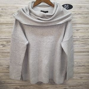 French Connection Stitch Fix Light Gray Cowl Top